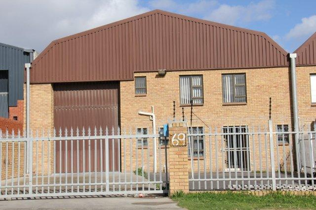 TO LET – INDUSTRIAL WAREHOUSE – KILARNEY GARDENS – NO KG03