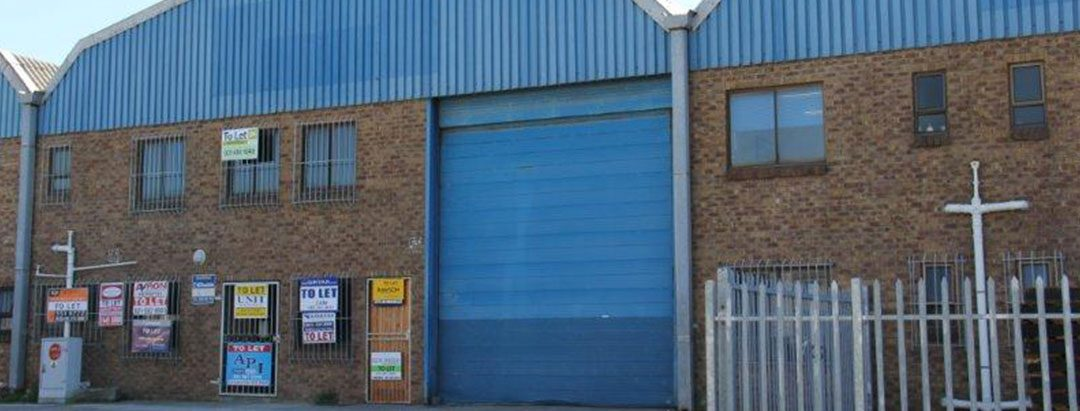 TO LET – INDUSTRIAL WAREHOUSE – MONTAGUE GARDENS – NO MG03